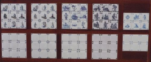 Corner and Delph Ceramic wall Tiles